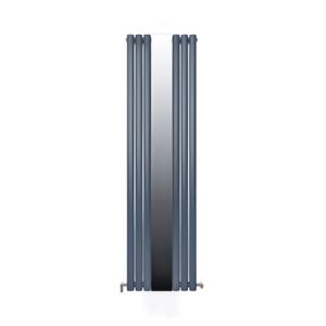 Радиатор дизайнерский IDEALE ADRIANA 11 6/1800 антрацит (c зеркалом)