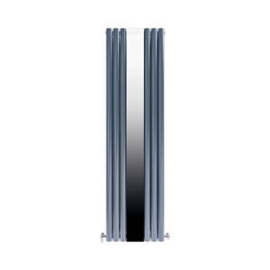 Радиатор дизайнерский IDEALE ADRIANA 12 6/1800 антрацит (c зеркалом)